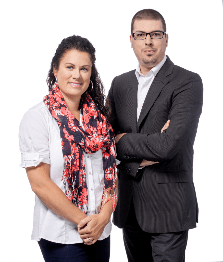 Sophie Plante et Frédéric Gagnon